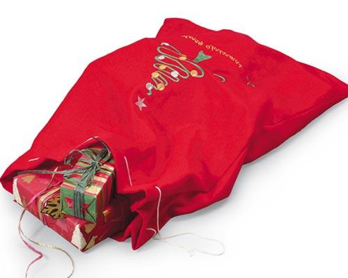 Мешок удачи с подарками в придачу