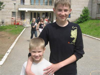 Фото сыновей