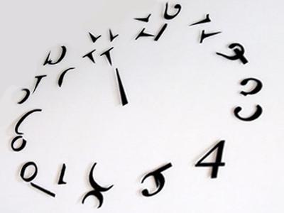 Часы с разобранным циферблатом