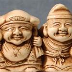 Дайкоку и Эбису — двойной символ удачи