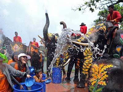 Фестиваль водных брызг