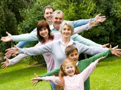 Вся семья имеет большую цель