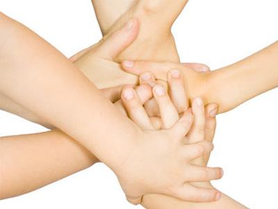 Сплетение рук