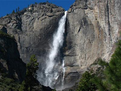 Водопад Йосемите