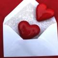 Письмо с сердечками