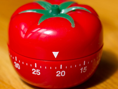 Кухонный таймер в форме помидора