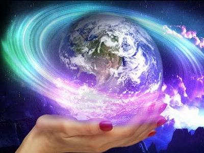 Земной шар на ладони