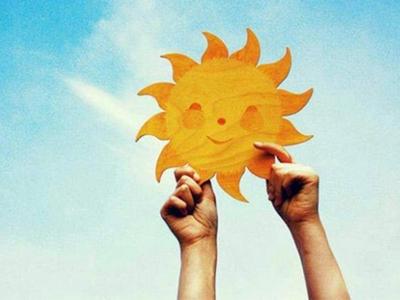Солнце в руках - счастье в душе