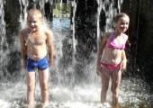 Водопады в Нылге
