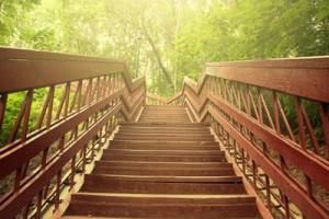 Лестница – символ движения к своему желанию