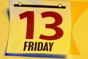 Пятница, 13  — неудачный день
